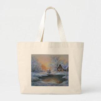 Winter Large Tote Bag