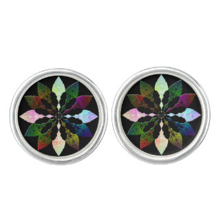 Winter Leaves Cuff Links