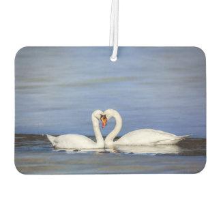 Winter Love Swan Air Freshener