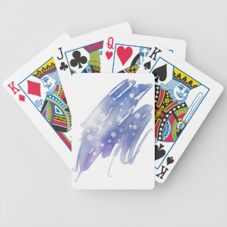 Winter Magic Bicycle Playing Cards
