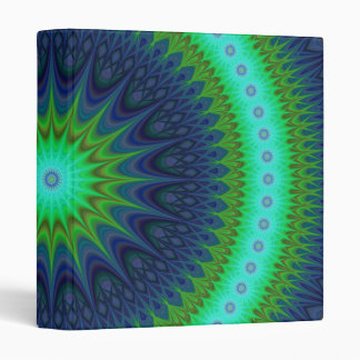 Winter mandala vinyl binder