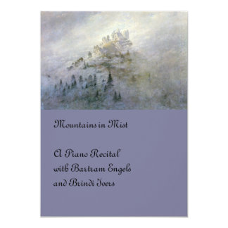 Winter Mist on the Mountain Card