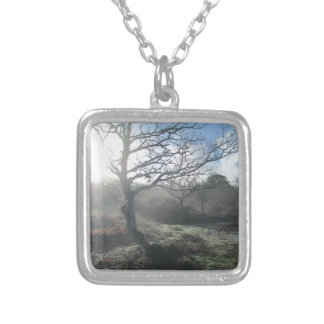 Winter Mist Silver Plated Necklace