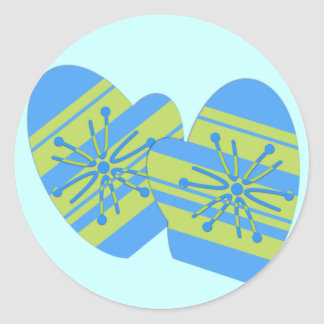 Winter Mitten Stickers