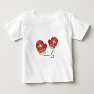 Winter Mittens Baby T-Shirt