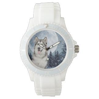 Winter Moon Husky Watch