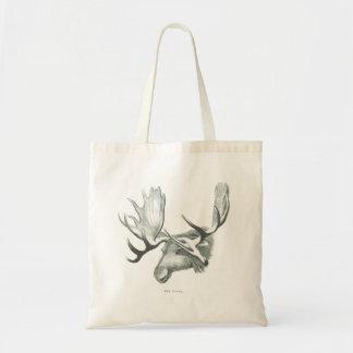 Winter Moose Tote