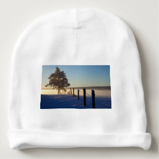 Winter Morning St Joseph Island Baby Beanie