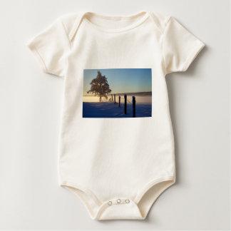Winter Morning St Joseph Island Baby Bodysuit