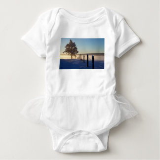 Winter Morning St Joseph Island Baby Bodysuit