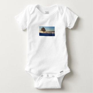 Winter Morning St Joseph Island Baby Onesie