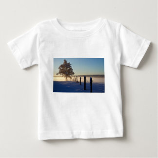 Winter Morning St Joseph Island Baby T-Shirt