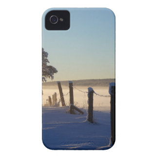 Winter Morning St Joseph Island iPhone 4 Cover