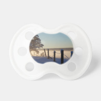 Winter Morning St Joseph Island Pacifier