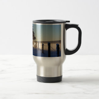 Winter Morning St Joseph Island Travel Mug