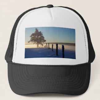 Winter Morning St Joseph Island Trucker Hat