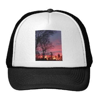 Winter Morning Sunrise Trucker Hat