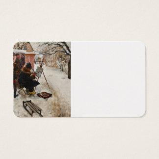 Winter Motif Åsögatan Business Card