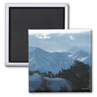 Winter Mountain Magnet