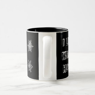Winter Mug - warm hugs & snowflakes