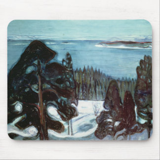 Winter Night, 1900 Mouse Pad