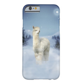 Winter Night Alpaca iPhone 6 Case