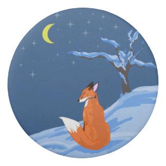 Winter Night Fox Eraser