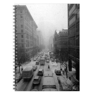 Winter NYC Spiral Notebook