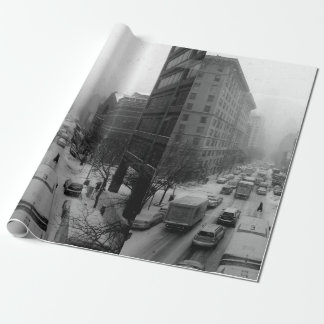 Winter NYC Wrapping Paper