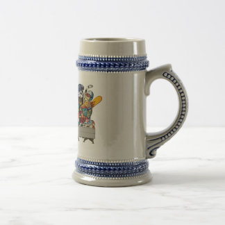 Winter Olympic ver.the last supper Beer Stein