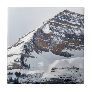 Winter on Mt Timpanogos - Sundance - Utah Tile