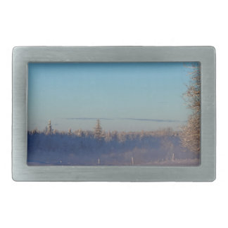 Winter on St Joseph Island Belt Buckle