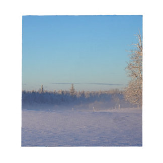 Winter on St Joseph Island Notepad
