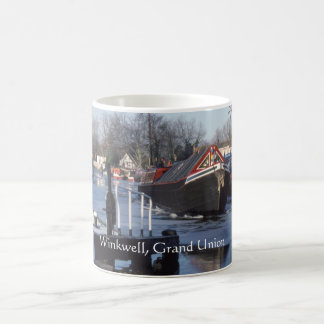 Winter on the Grand Union Canal Coffee Mug