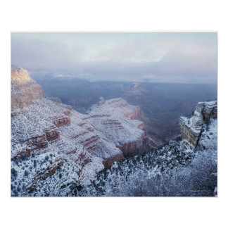 Winter on the South Rim, Grand Canyon National Poster
