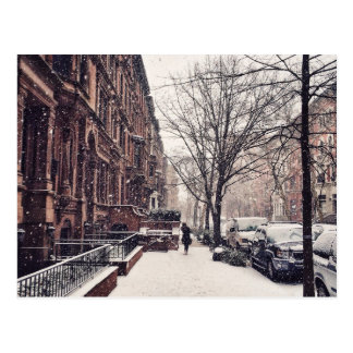 Winter On The Upper West Side Postcard