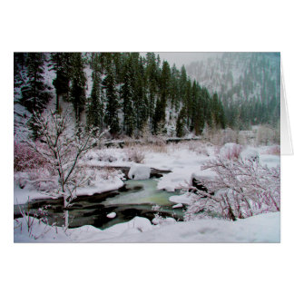 Winter on the Wenatchee greeting cards