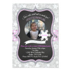 Winter ONEderland 1st Birthday Invitation Girl