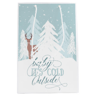 Winter Onederland Baby It's Cold Outside Gift Bag