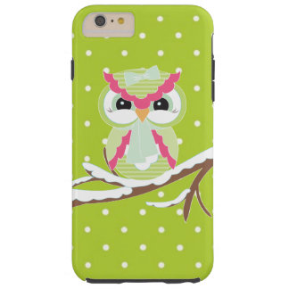Winter owl iPhone 6 plus tough case