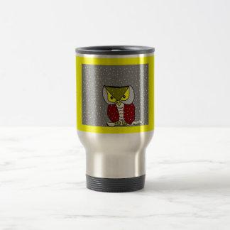 """ Winter Owl "" Travel Mug... Travel Mug"