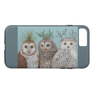 Winter owls Apple iPhone 7 Plus, Tough Case