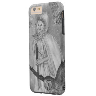 Winter Owls Winter Lady iphone case