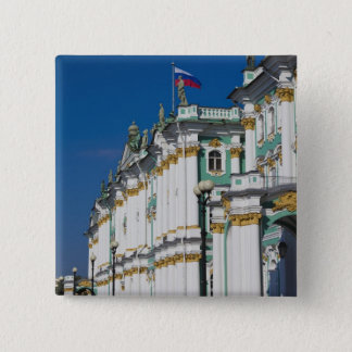 Winter Palace and Hermitage Museum 2 Inch Square Button