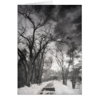 Winter Pathways Card