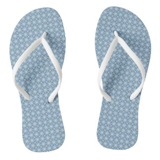 Winter Pattern Flip Flops