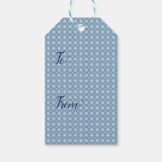 Winter Pattern Gift Tags