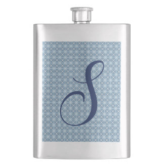 Winter Pattern Hip Flask