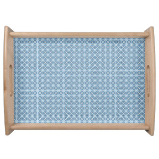 Winter Pattern Serving Tray