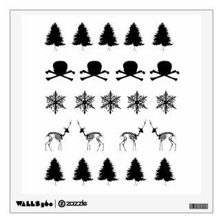 Winter Pattern Wall Decal